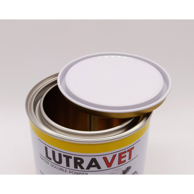 1.5l empty tin can 65x65x45,metal round shape milk tin can