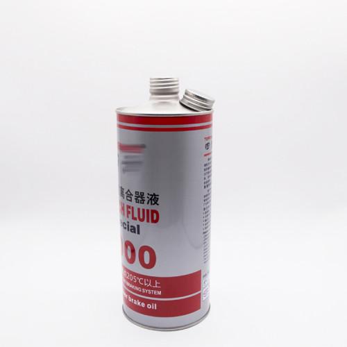 1L High quality brake oil can screw cap tin can