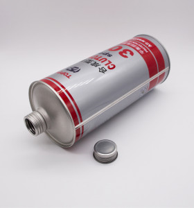 250 ml to 1 Liter empty tinplate metal round tin can