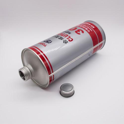 250 ml to 1 Liter empty tinplate metal round tin can
