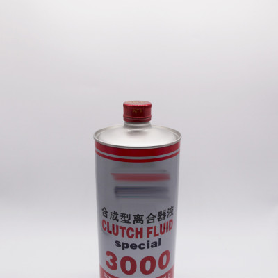 1L1000 ml empty tinplate metal round tin can