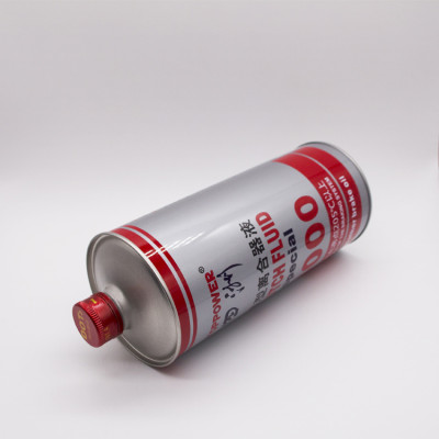 Manufacturing 0.5L 1L 2L 3L 4L 5L white coating round empty oil tin can metal tinplate chemical paint canister container