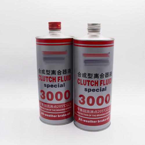 Hot sale metal empty round shape engine oil paint tin can with lid