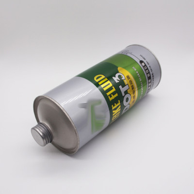 800ml to 1l cleaning agent metal screw top tin can