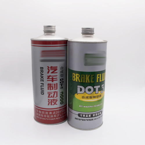 1l cleaning agent metal screw top tin can