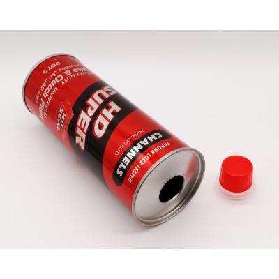 Guangzhou Futen factory hot sale round brake fluid can empty brake oil bottle 250ml 500ml
