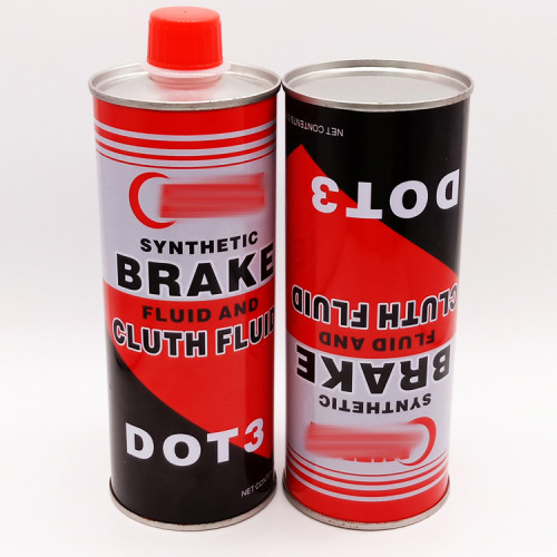 Hot sale small round oil can for brake oil cleaning oil packing