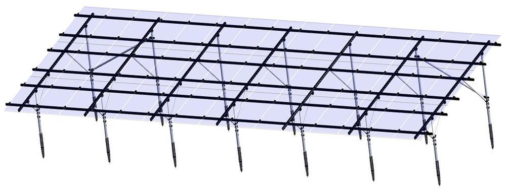 태양 광 프레임 (마운팅, 브래킷)
