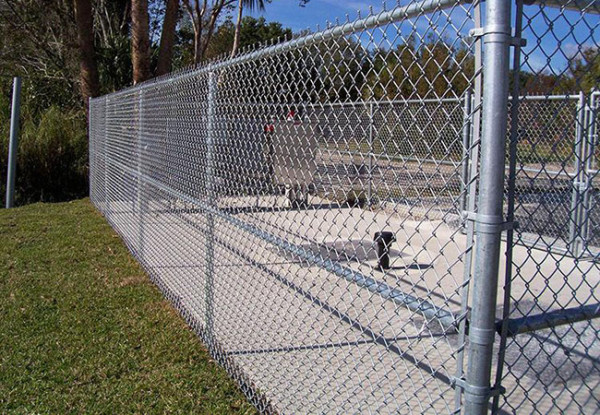 JFN China chain link fence for solar station
