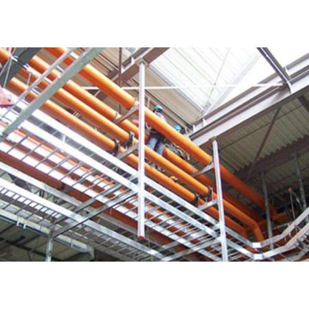 津伏能科技(天津)有限公司-圆管抗震支架管廊支架-根据客户要求定制