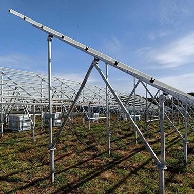 JFN 중국 큰 잎 놀이쇠 연결, 태양 램프 극을 위해 지상 나사 닻
