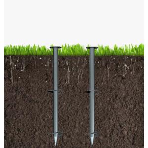 津伏能科技(天津)有限公司-大叶片法兰连接螺旋地桩-各种气候地形地基-完美替代水泥地基