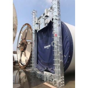 風力発電の輸送固定フレーム