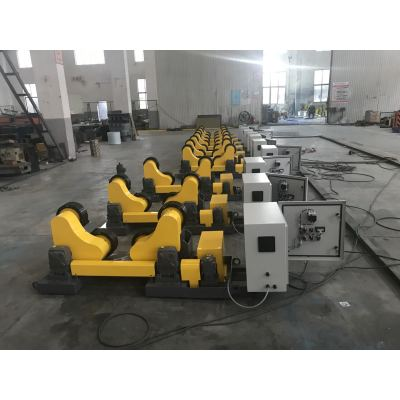 5~20 ton China Self adjusting welding pipe Rotator  Welding Rotator Factory