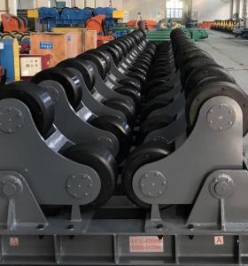 Self-adjusting Welding Rotator turning rolls driven wheel