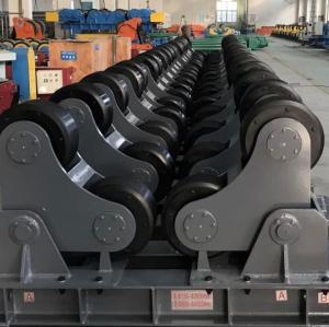 Adjustable Screw Welding Rotator turning rolls driven wheel