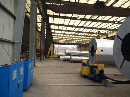 Walking System Liftable CNC Hydraulic Welding Rotator turning rolls