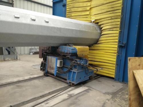 CNC Adjustable Walking Type Liftable  Welding Rotator turning rolls