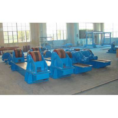 OEM&ODM Screw Manually Welding Rotator turning rolls with idler wheel