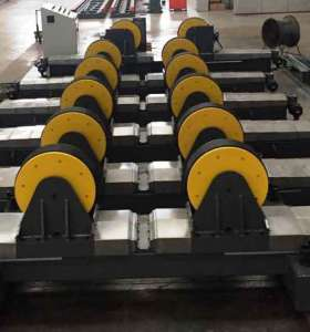 Customize  Lead screw adjustable  Welding Rotator turning rolls