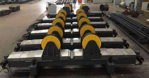 Welding Automation Systems Lead screw Electrical drive Adjustable  Welding Rotator turning rolls