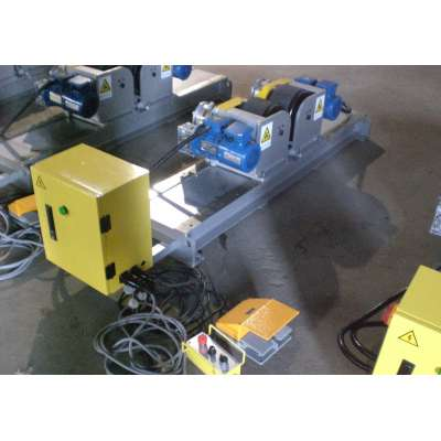 China Factory Manually bolt adjustment high adaptability  friction welding turning rolls