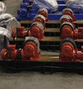 Adjustable  single wheel bolts high adaptability  welding turning rolls