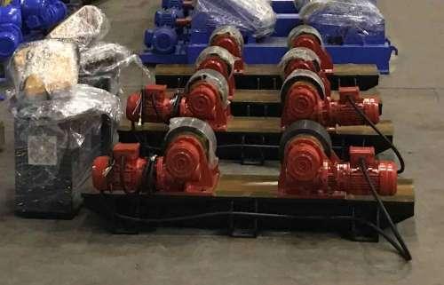 Adjustable  single wheel bolts high adaptability  welding turning rolls