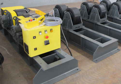 Custom Portable Wire Control Adjustable  through bolts welding turning rolls