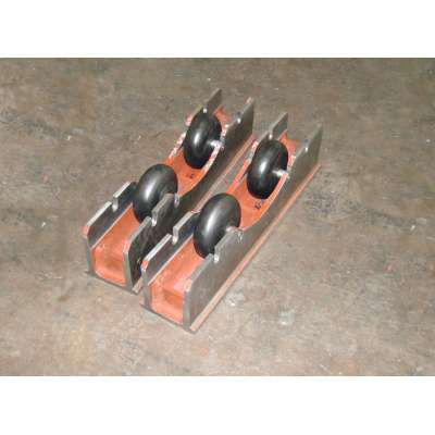 Manually Operated Small Adjustable welding turning rolls for light workpiece