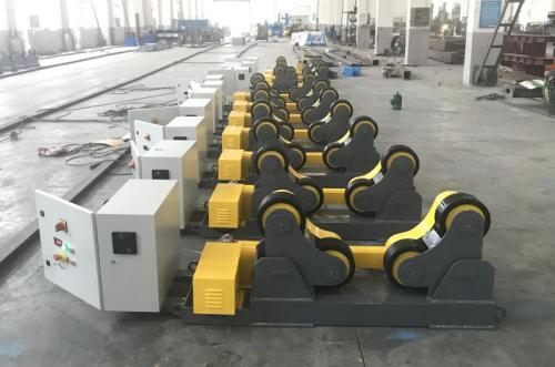 5~20 ton China Self adjusting welding pipe Rotator  Welding Rotator Factory