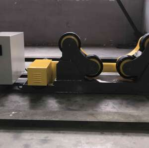 Self-adjusting Welding Rotator turning rolls driven wheel