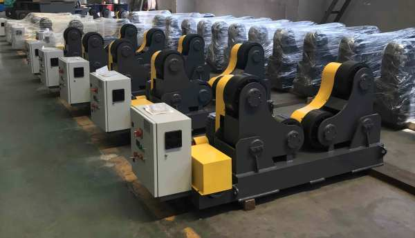Heavy Duty  Self adjusting welding turning rollers for different length weldments
