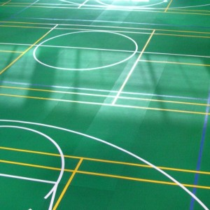 Chinese Novotrack recycled rubber flooring rolls for sports court and athletics