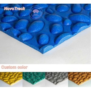 Chinese hot selling rubber floor mats for kids rubber playground mats