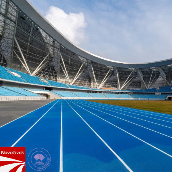 Prefabricated Outdoor athletics track surface synthetic running track surface
