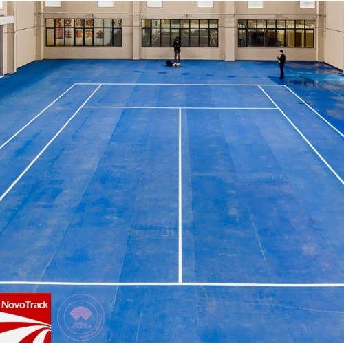 Recycled synthetic tennis court surfaces from chinese manufacturer Novotrack