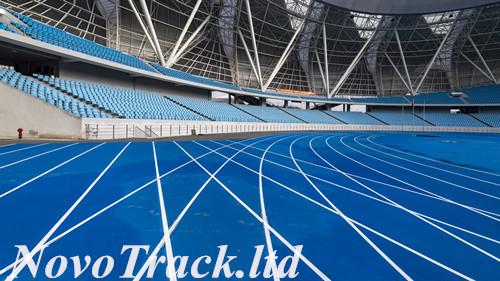 pro athletics track