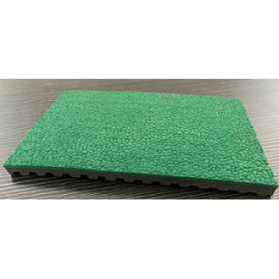 预制橡胶球场表面(绿色)