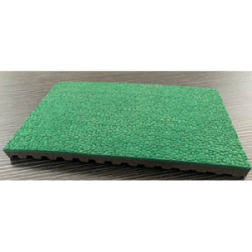 Environmental protection courts Prefabricated Rubber Track Surfaces green