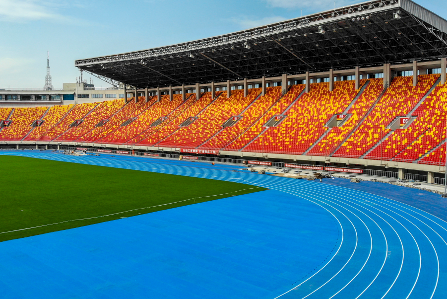 olympic track surface