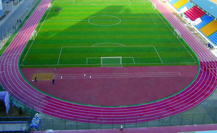 Campus running track