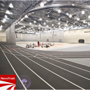 Prefabricated Indoor athletics track prefabricated surface 13 mm running track material