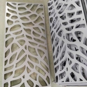 3D Aluminium Decorative Panels / Solid Wall Panels For Building Decoration