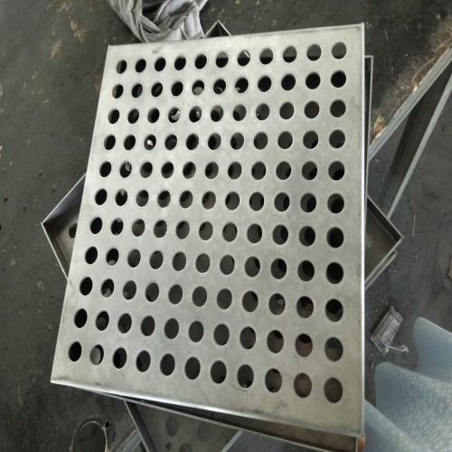 arc-shaped punched aluminum veneer