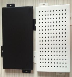 punching holes aluminum panels