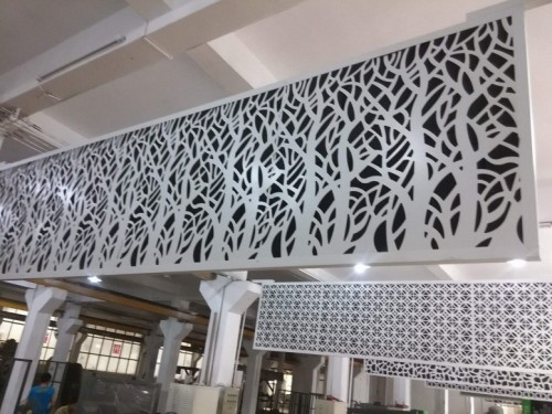 PVDF painting aluminum veneer for curtain wall