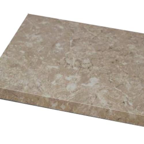 Surface treatment of imitation stone aluminum veneer
