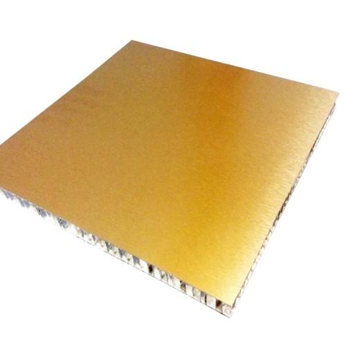 Imitation wood grain panel aluminum honeycomb
