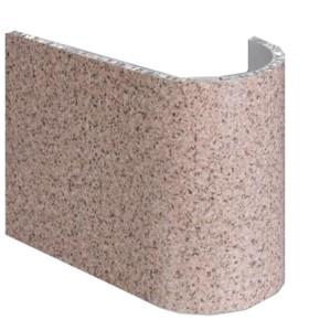 Imitation stone panel aluminum honeycomb